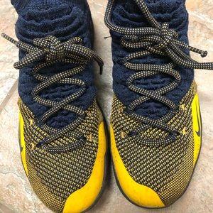 Youth Nike KD basketball shoes